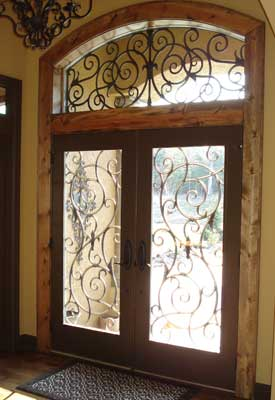 Wrought Iron Decorative Window Film Home Decorating Ideas